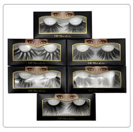 $enCountryForm.capitalKeyWord Australia - 10 Styles 25mm 6D Mink False Eyelashes Soft Natural Long Thick Cross Handmade False Eyelashes 6D Mink Lashes Extension Eyelash