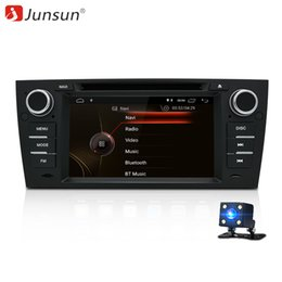 car gps din free map NZ - Junsun Android 8.1 Car DVD Radio for BMW 3 Series E90 E91 E92 E93 Multimedia Navigation with RDS Bluetooth Mirror Link Free Map