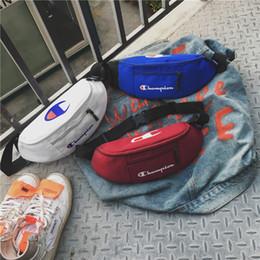 $enCountryForm.capitalKeyWord NZ - 2019 New Arrivel Tide brand small bag unisex chest bag pocket printing letter sports shoulder Messenger bag