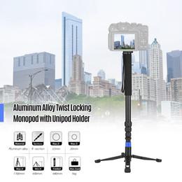 $enCountryForm.capitalKeyWord Australia - Aluminum Alloy Twist Locking Heavy Duty Mono-pod Camera with Holder 1 4 Inch 3 8 Inch Screw Mounts for DSLR ILDC Camcorder
