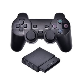 $enCountryForm.capitalKeyWord UK - 2.4G Wireless Twin Shock Game Controller Joystick Gaming Joypad For Sony PS2 PlayStation