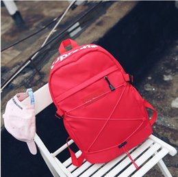 Plastic Hollow Hearts Australia - Designer Backpack Fashion Backpacks Luxury Double Shoulder Bag Outdoor Traveling Letter Printed Schoolbags for Women Students Backpacks E03