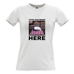 Print Photos T Shirts Australia - Your Image Photo Picture Here Custom Personalised Womens T Shirt Printing Hen