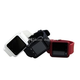 Packages For Wrist Watch Australia - Bluetooth U8 Smartwatch Wrist Watches Touch Screen For iPhone 7 Samsung S8 Android Phone Sleeping Monitor Smart Watch With Retail Package