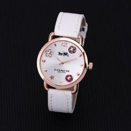Hot relógios de marca COACH casual mulheres homens relógios casal quartz watchwrist big bang relógios de pulso para homens mulheres relógios ga coa ga em Promoção