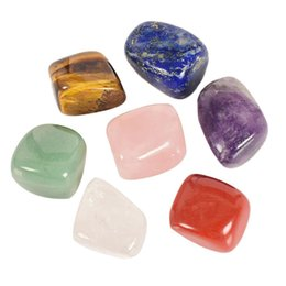 crystal stress NZ - Mix Gemstone Energy Natural Crystal Stone Healing Home Decoration Relieve Stress Anxiety C19041101