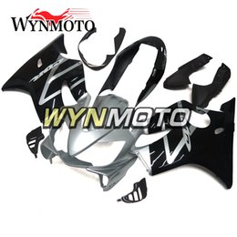 Motor Bicycles Australia - High Quality Black Silver Bodywork for Honda CBR600F4i 2004 2005 2006 2007 04 05 06 07 ABS Plastic Injection Panels Motor Bicycle Fairings