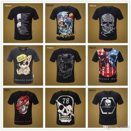 $enCountryForm.capitalKeyWord Australia - Mix 22 model Name Brand Fashion Men's Tee T shirt O-Neck Regular sleeve The Legend of Zombie Camisetas Skull Kid Paint custom tshi