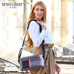 Carry bags handles online shopping - One Shoulder Linen Lady Hanging Bags Waterproof Portable Square Mother Baby Out Fashion Simple Stroller Carrying Handle Bag xlD1
