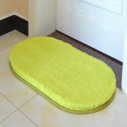kitchen mat rug Australia - Ellipse Bath Mat Kitchen Doormat Non Slip Carpet Mat In The Bathroom Bedroom Living Room Comfortable Rug Shower Absorbent Carpet