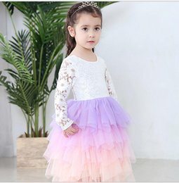 novelty christmas gifts for children 2019 - Baby Girl Clothes Summer Tutu Dress For Girls Dresses Kids Clothes Wedding Flower Girl Dress Birthday Party Costumes Chi