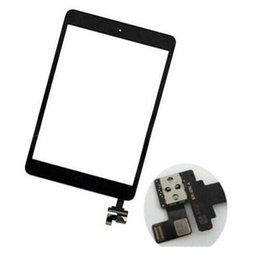 Chinese  2019 Hot Sale Touch Screen Glass Panel with Digitizer with ic Connector Buttons for iPad Mini 2 STY190 manufacturers