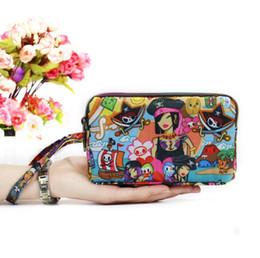 $enCountryForm.capitalKeyWord NZ - Fashion Women Wallet Clutch Bag 3 Layers Canvas Zipper Purse Large Capacity Handbag Girls Coin Purse Mobile Phone Bag Wallets 36 Colors