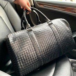 $enCountryForm.capitalKeyWord Australia - BV 5A designer mens and womens Totes classic waxed leather large-capacity tote bag Travel bag Mens brand shopping bag BV11 49 27 26cm