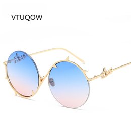 $enCountryForm.capitalKeyWord Australia - 2019 New Unique Round Sunglasses Women Men Brand Designer Personality Gradient Lens Sun Glasses For Lady Men Shades Unisex UV400