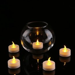 $enCountryForm.capitalKeyWord NZ - 24 Pcs Tea Light Batteries Flickering Flameless Led Bougie Electric Candles Home Wedding Birthday Party Decoration C19041901