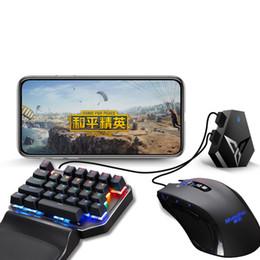 venda por atacado Original Teclado Xiaomiyoupin Flydigi Q1 Jogo Mobile Mouse Converter Via Conexão USB Interface e sem fio Bluetooth 3008059C7