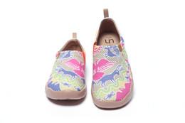 $enCountryForm.capitalKeyWord Australia - UIN Free Delivery Women's Eastern Garden Travel Art Painted Canvas Casual Shoe Multicolor