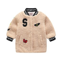 $enCountryForm.capitalKeyWord Australia - good quality winter kids girls outerwear coat thick jacket cartoon covered button coat plus velvet outfit clothing for kids girls