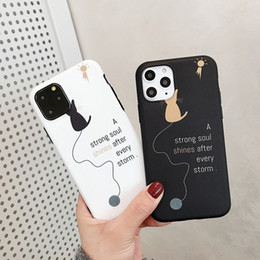 Discount cat cell phone covers Cat Silicone Soft Case For iPhone 6s 6 s 7 8 Plus Xs Max XR X 10 5 5s SE 6Plus 6sPlus 7Plus 8Plus Cell Phone Cover Promo