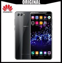 "Mobile Smartphone Digital Camera Australia - Original Huawei Nova 2S Android 8.0 Mobile Phone 6.0""Full View Screen 2160*1080pix Smartphone Octa Core 4 Cameras Fingerprint ID NFC"