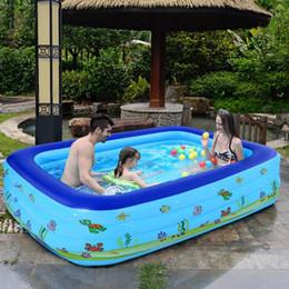Toptan satış piscina 2020 Yeni Yüzme Havuzu İçin Aile Bahçe Açık Yaz Şişme Çocuk kürek çekmeye Havuzlar Piscinas grandes para familia