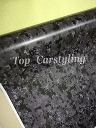 $enCountryForm.capitalKeyWord Australia - Black gray digital pixel camo vinyl car wrapping covering camoufalge printed car sticker with Air Release