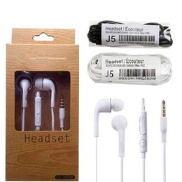 headphones microphone for samsung note UK - s4 Earphones 3.5mm earbuds with Mic Remote Volume Control headset headphones for Samsung galaxy s3 s4 s5 note 2 4 mp3 A+ In-Ear