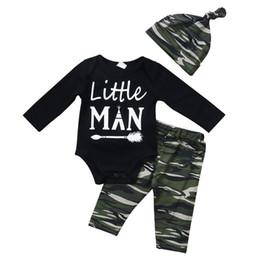 6de09d01d5f0 ... para niños pequeños Niño de navidad Romper + Pantalones + Sombrero 3  UNIDS conjunto Traje Boutique Infantil Casual Niños Traje Pijamas para niños  BY0670