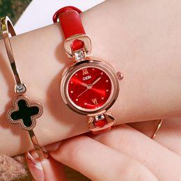 $enCountryForm.capitalKeyWord Australia - Korean women's watch Fashion casual simple belt ladies watch Small temperament wild girl waterproof quartz watch
