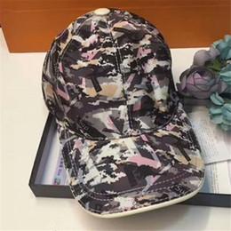 Printed Ball Caps Australia - Luxury Print Baseball Caps 78 Styles Fashion Casual Adjustable Hats with Box Unisex Spring Golf Sun Cap Autumn Men Women Ball Hat
