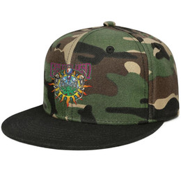 Background Prints Australia - Fitted Men Women camouflage Trucker caps Grateful Dead Backgrounds skull cool flat bill Hip Hop Snapbacks cap Fit dad hats