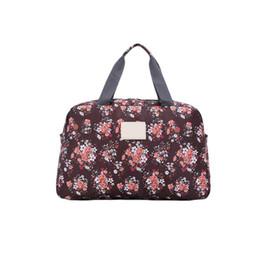 Folding Travel Duffle Totes Bag Sports Short Travelling Bags Luggage For Women  Girl Organizer Suit Packing Weekender Bag Handbag 6aa8b410429ea