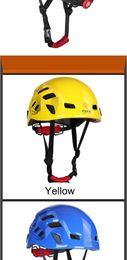 $enCountryForm.capitalKeyWord Australia - Durable Integrally-molded Rock Climbing Helmet Climbing Helmet Material PC+EPS Casco Ciclismo Helmet CE Certification