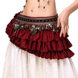 $enCountryForm.capitalKeyWord NZ - 2019 New Tribal Bellydance Clothes Gypsy Costume Accessories Fringe Wrap Coins Belts Hip Scarf Belly Dance Belt X