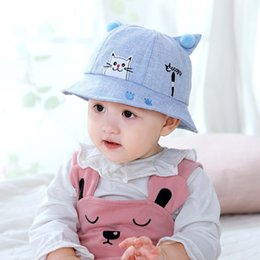 $enCountryForm.capitalKeyWord Australia - Cute Baby Hats Accessories Girls Baby Newborn Kids Print Boys Enfant Spring Hat Sunhat Caps Summer Cartoon