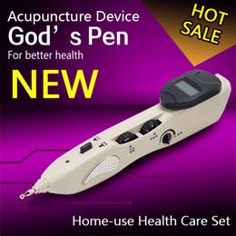 Meridian Massage Pen Australia - Acupuncture Meridian Pen Electronic Health Care Massage Acupuncture Pen Point Massage Instrument For Hole Equipment Cheap pen drive pqi 8gb
