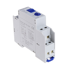 din rail switches UK - Din rail Staircase Lighting Timer Switch timer relay 220VAC 16A used for corridor lighting ALC18