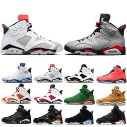 Discount style camp - New Style Reflective Bugs Bunny Bred 6 6s Basketball Shoes For Men Tinker UNC Black Cat Carmine Mens Designer Trainer Sp