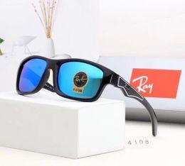 $enCountryForm.capitalKeyWord Australia - Mirror Glass Lens Designer Sunglasses Fashion Sunglasses Adumbral Goggle Car Driving Glasses UV400 Model 4108 5 Color High Quality with Box