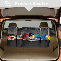 $enCountryForm.capitalKeyWord Australia - Foldable Storage Box Bag Auto Trunk Organizer Interior Accessories Portable Big Capacity Back Seat Luggage Stowing Tidying Bag