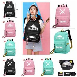 167ed1e730 Fortnite Backpacks 6 Designs Fortnite Printed School Backpacks With Usb  Charging Port And Headphone Interfac Student Schoolbag Mma686 6pcs