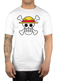 Chinese  One Piece Skull T-Shirt Tee Anime Manga One Piece Japanese Gift Idea Present manufacturers