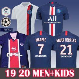 Kids purple shirt online shopping - MEN Kids PSG Maillot de Football Soccer Jersey MBAPPE Maillot Paris Football Shirt PSG Classic Vintage kit Jersey