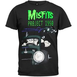 Cars Projects UK - Misfits - Car Project 1950 Adult Mens T-Shirt Men Women Unisex Fashion tshirt Free Shipping black