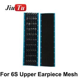 $enCountryForm.capitalKeyWord Australia - Anti Dust Mesh Ear Speaker Earpiece Adhesive For iPhone6s 6s plus 7G 7PLUS Cracked Earmesh Replacement JiuTu