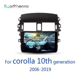 special car dvd toyota corolla 2019 - for Toyota Corolla 10th generation 2006-2019 e140 e150 10.1 inch car multimedia player for central display GPS navigatio