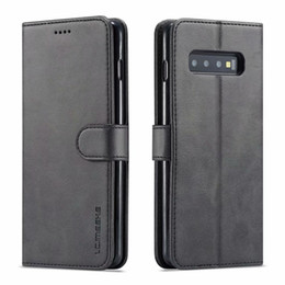 SamSung a8 online shopping - LC IMEEKE Leather Flip Case For Samsung Galaxy S10 S9 S8 plus S10E G Note A6 A7 A8 J4 J6 Case Cover Phone Cases Wallet Card slot