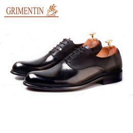 $enCountryForm.capitalKeyWord Australia - GRIMENTIN Summer Italian fashion designer dress mens formal shoes hot sale men oxford shoes genuine leather business wedding male shoes AST
