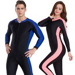 Surfing Wetsuit Women Australia - wetsuit spearfishing neoprene diving suit  couple women for men windsurf surfing 058f949b0